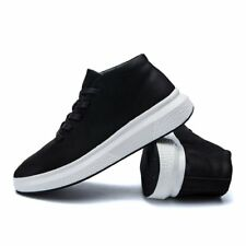 Fashion Street Mens Comfort Lace up Casual Shoes Low Top Sneakers Shoes Black