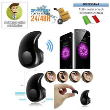 AURICOLARE BLUETOOTH 4.1 per SPORT Headset Cuffia Wireless con Microfono