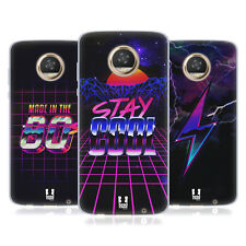 HEAD CASE DESIGNS 80'S RETRO FUTURISM SOFT GEL CASE FOR MOTOROLA PHONES