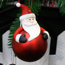Christmas Tree Hanging Bear Santa Claus Snowman Ball Decor Xmas Home Ornament 1x