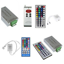 RGB RGBW 3528 5050 LED Strip Light Tape Light IR RF Remote Control Receiver Kit