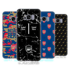 PERSONALISED ARSENAL FC 2017/18 CRESTA E LOGO CASE IN GEL PER SAMSUNG TELEFONI 1