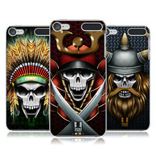 HEAD CASE DESIGNS SKULL WARRIORS HARD BACK CASE FOR APPLE iPOD TOUCH MP3