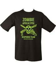 ZOMBIE APOCALYPSE GREEN Unisex T-shirt Zombies Zombie hunter undead Living Dead