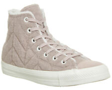 Womens Converse Converse All Star Hi DUSK PINK STITCH FUR Trainers Shoes