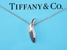 Tiffany & Co Frank Gehry argento sterling PESCE collana