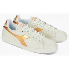 Scarpe Diadora Game Metallic W, Oro Sneakers Donna