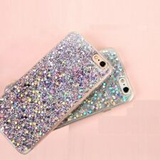 Case Cover For iPhone Models Luxury Bling Glitter Shockproof Soft Silicone