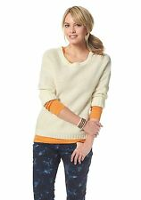 Tom Tailor Grobstrick-Pullover. Wollweiß. NEU!!! KP 57,99 € SALE %%%