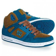 Baskets Femme DC SHOES REBOUND HIGH LE Brown Blue