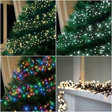 1323753638282g 280480720960 led christmas cluster string lights indoor outdoor tree light aloadofball Gallery