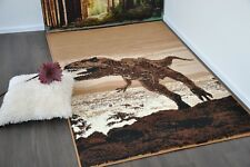New Extra Large Modern Soft Dinosaur Animal Print Area Rugs Carpet Mat Cheap Rug