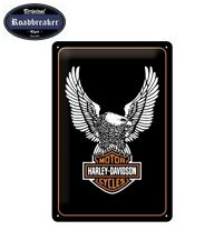 Harley Davidson Retro Blechschild / Tin Sign Modell Eagle B&S