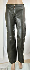 Pantaloni Donna Ecopelle Jeans X-STONE Made in Italy Regular Fit SA496 Tg 28