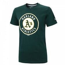 New Era MLB OAKLAND ATHLETICS Roundal T-Shirt NEU/OVP
