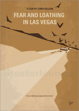 Impression sur bois No293 My Fear and loathing Las vegas minima... - chungkong