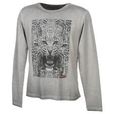 Tee shirt manches longues Teddy smith Transfer grs ml tee jr Gris 24466 - Neuf