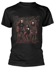 Immortal 'DAMNED IN BLACK' T-SHIRT - Nuevo y Oficial