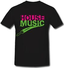 House Music I Love Music techno Electro Beats Party Club Mukke CD - T Shirt #310