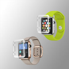 Apple Watch iwatch Series 1 2 38mm/42mm TPU Snap On Hard Protective Case Cover