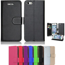 For New Apple iPhone X 8 5 6 Plus 7+ Genuine Real Leather Wallet Flip Case Cover
