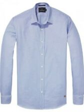SCOTCH & SODA Hombre Camisa Informal Camiseta manga larga