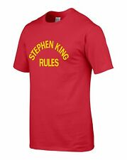 Stephen King Rules, Stephen King, Men's, T-Shirt, Tee, Horror, The Monster Squad