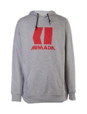 Armada Icon Hoodie Heather Grey/Red