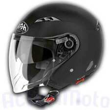 Casco Helmet Jet Airoh City One Color Black Matt Nero Opaco moto scooter