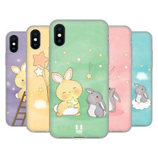 HEAD CASE ATTRAPPEUR D'ÉTOILE LAPINS ÉTUI COQUE EN GEL MOLLE POUR APPLE iPHONE X