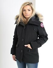 Canada Goose Women's Montebello Premium Coyote  Fur-Trimmed Shell Padded Parka