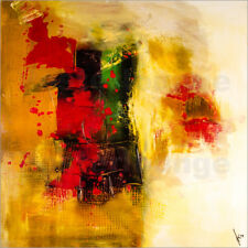 Reproduction sur toile Abstract painting on canvas - modern ... - M. artefacti
