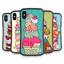 HEAD CASE DESIGNS GARNITURES ANIMALES ÉTUI COQUE HYBRIDE POUR APPLE iPHONE X