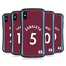 WEST HAM UNITED FC 2017/18 HOME KIT 1 CASE IBRIDA PER APPLE iPHONES TELEFONI