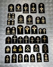 Genuine Royal Navy Embroidered Assorted Branch Qualification Badges Various NEW