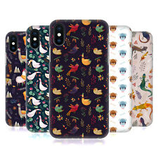 OFFICIAL OILIKKI ANIMAL PATTERNS HARD BACK CASE FOR APPLE iPHONE PHONES