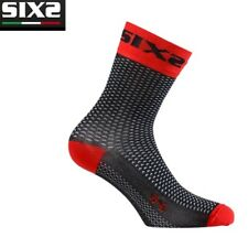 Calzini Calze corte SOCKS Moto Sport SIXS RED ROSSO 100% made in Italy SHORT S