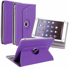 "New Leather Universal Folio 360"" Rotate Cover For Android Tablet PC 9""10 inch"