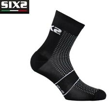 Calzini Calze corte running SOCKS SIXS BLACK CARBON 100% made in Italy RUN S