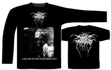 DARKTHRONE' A Blaze In The Northern Sky ' Long Sleeve Shirt - Nuevo y Oficial