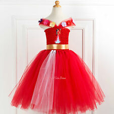 Princess Elena of Avalor Tutu Dress. Elena of Avalor Tutu Dress. Handmade Tutu