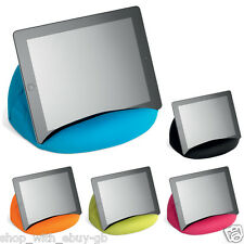 iPad tablet cushion Bean bag stand support for tablets kindle iPad books Bright