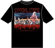 CANNIBAL CORPSE ' Eaten Back To Life ' T-SHIRT - Nuevo y Oficial