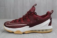 24 NEW MENS NIKE LEBRON JAMES XIII 13 LOW SHOES 831925 610 $175 SZ 10
