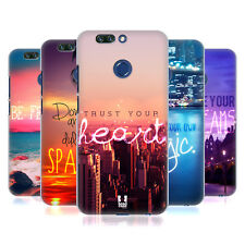 HEAD CASE DESIGNS WORDS TO LIVE BY 4 HARD BACK CASE FOR HUAWEI HONOR 8 PRO