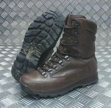 Genuine British Army Karrimor SF Cold / Wet Weather Goretex Brown Combat Boots