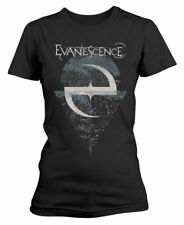 EVANESCENCE' Space Map 'womens fitted T-SHIRT - NUOVO E ORIGINALE