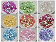 3000 8mm CUP round loose sequins Paillettes sewing Wedding Color for Choice