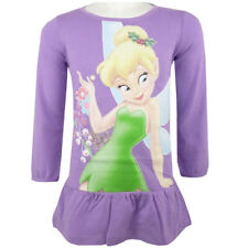 Disney Fairies - Tinker Bell - Tunika - Kleid - Shirt - Lila - Gr. 98-128