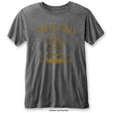 RAMONES' Forest Hills 'Burnout T-shirt - NUOVO E ORIGINALE
